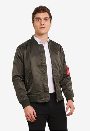 High Cultured 綠色 Zipped Jacket HI002AA0S1U1MY_1