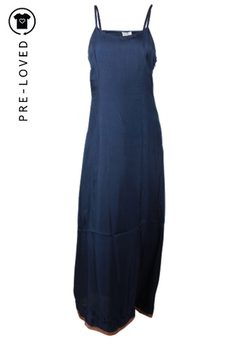 Alberta Ferretti blue Pre-Loved alberta ferretti Blue Silk Dress 24426AA8C08A6CGS_1