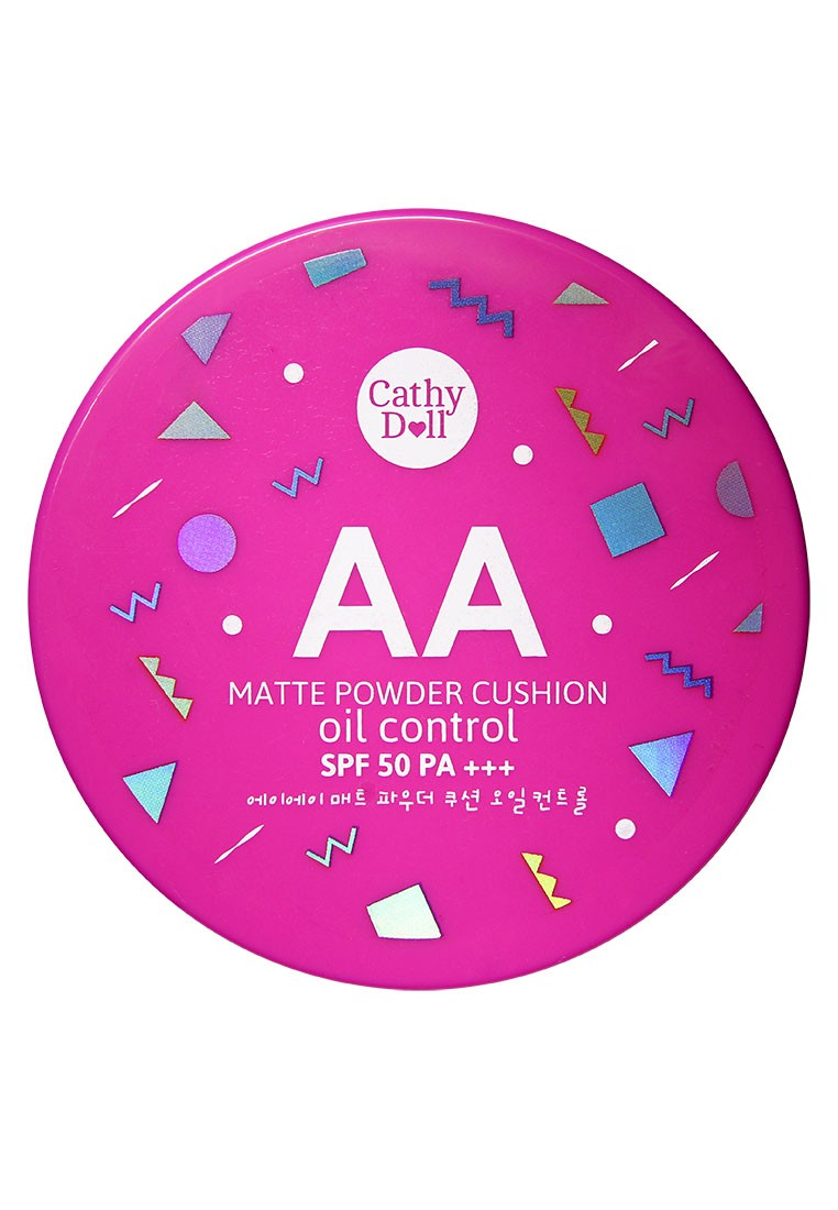 AA Matte Finished Powder Cushon in Natural Beige