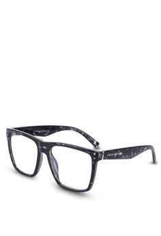 05e973f3ab Privé Revaux brown The Mlk Screen Glasses DA30BGLB00EAEAGS 1