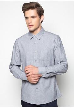 Brice Long Sleeve Polka Shirt
