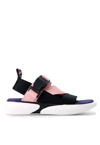 Twenty Eight Shoes 粉紅色 彈力織帶獨特鞋底涼鞋 VS1848 419C1SHDD755F4GS_1