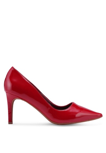 Something Borrowed red Patent Heels 2845ASH6058262GS_1