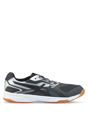Asics grey Upcourt 2 Shoes AS989SH0SVR2MY_1