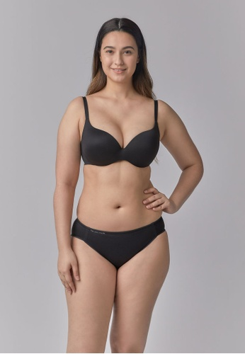 Her Own Words black Signature Lightly Lined Plunge 37DD6US83CEF09GS_1
