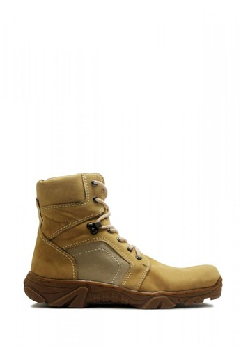 Cut Engineer brown Cut Engineer Taktical Boots Safety Iron Suede Brown F1F82SH317150DGS_1