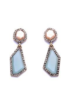Chloe and Isabel Sand + Sky Post Drop Earrings