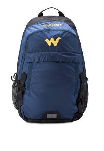 Viri 撞色筆電後背包, 包zalora是哪裡的牌子, 旅行背包
