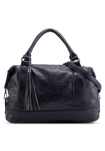 流蘇吊esprit 價位飾仿皮托特包, 包, 手提包
