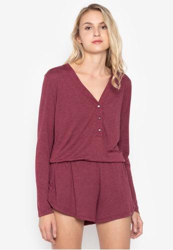 fbd005f613d Shop Josie Heather Long Sleeve Teddy Online on ZALORA Philippines
