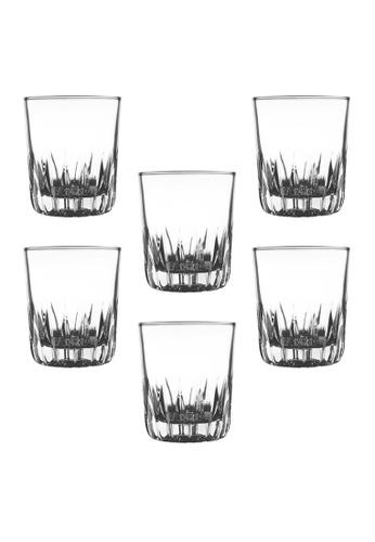 Union Glass n/a Thailand Premium Clear Glass Rock Glass Water, Juice, Soda, Liquor Glass 280ml -10oz Set of 6 352BEHL7E2EB40GS_1