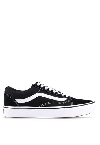 2617a76c9a1 VANS black ComfyCush Old Skool Classic Sneakers 2150DSH7ED964DGS 1