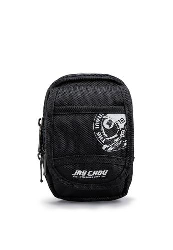 Life8 black Jay Chou Strongest Official Multi-storey small bag-06409-Black LI283AC0GNU4SG_1