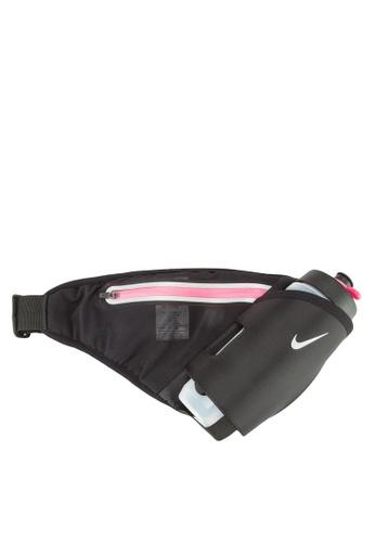 Nike black and pink Nike Lean 22 OZ Hydration Waistpack NI126AC16UETMY_1