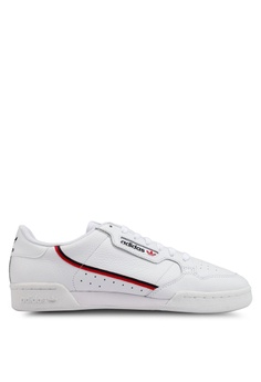 de61488015e0 adidas white adidas originals continental 80 sneakers B31ACSH8AB1FB5GS 1