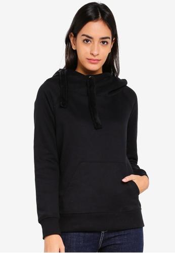 ONLY black Jasmin Jalene Long Sleeve Hoodie 0003EAA590AD1BGS_1