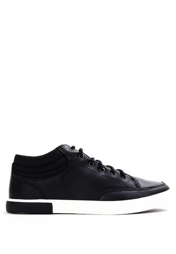 World Balance black Lowell MS Sneakers 870E2SH928C36EGS_1
