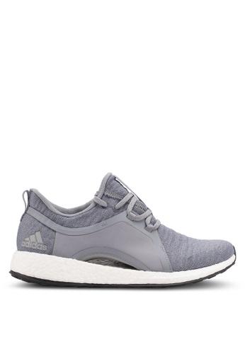 adidas grey adidas pureboost x AD372SH0SUQ7MY_1