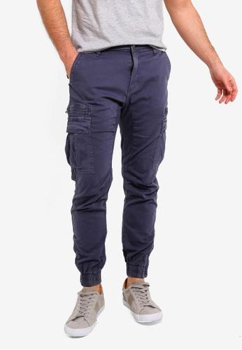 Cotton On 藍色 Urban 慢跑褲 5BCC4AA9159F71GS_1