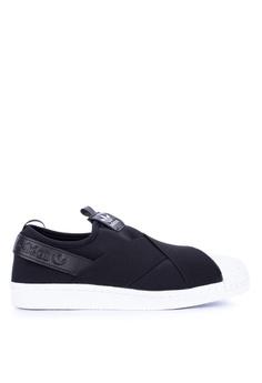 sports shoes efe2a db0d7 adidas black adidas originals superstar slip on w F94ADSHE0F75B8GS 1