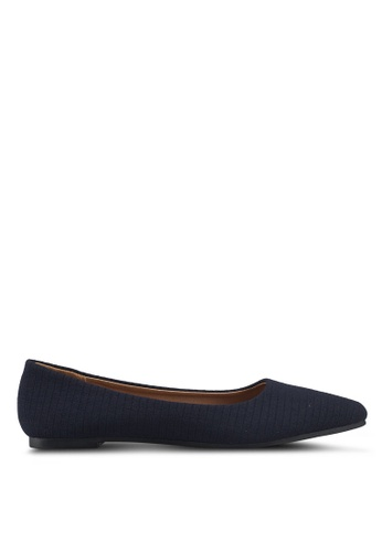 Rubi 海軍藍色 Primo Point 平底鞋 3A656SH82D6519GS_1