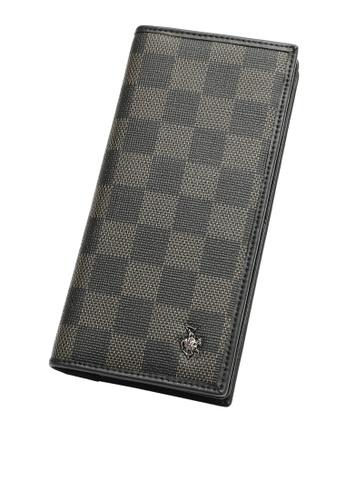Swiss Polo black Rfid Blocking Long Wallet E664EAC63BF9C1GS_1
