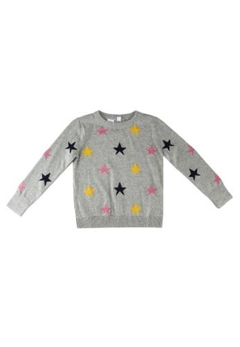 GAP grey Star Pullover 695E6KAE9E3BC2GS_1