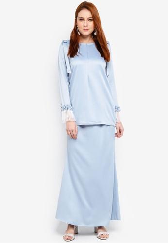 Afeeya Kurung from JubahSouq in Blue