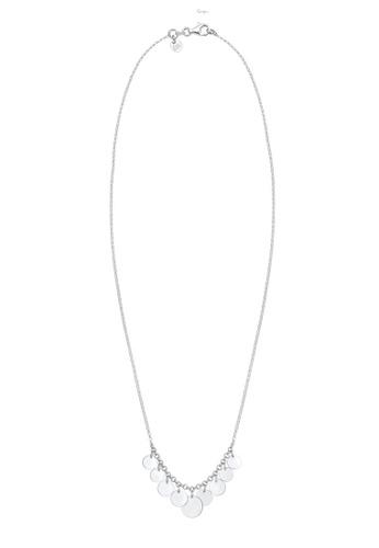 ELLI GERMANY silver Elli Germany Necklace Platelet Geo Look Trend Blogger in 925 Sterling Silver 0425BAC9DA4C06GS_1