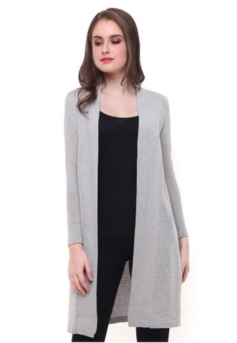 LGS grey LGS - Sweater Wanita - Model Terusan - Abu B3DD2AA81385FEGS_1