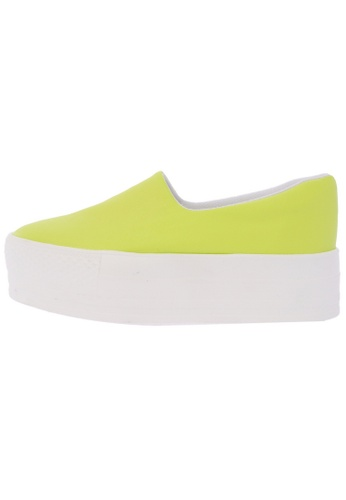 Maxstar C03 50 Synthetic Leather Platform Slip on Sneakers US Women Size MA168SH90DLHHK_1