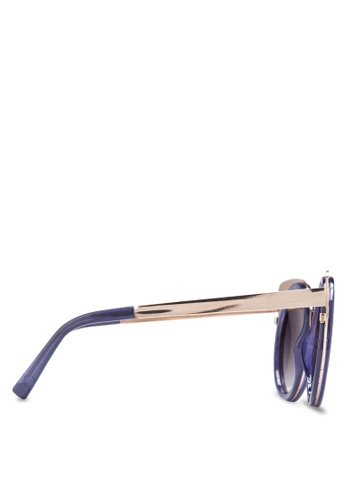 a32acdf1bc Buy Jeepers Peepers Purple Cat Eye Sunglasses Online on ZALORA Singapore