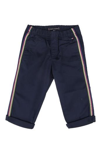 Tommy Hilfiger navy Pull On Tape Chino Pants 783C4KA78E7722GS_1