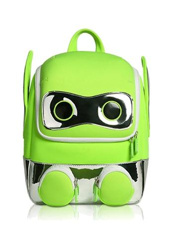 Nohoo green Nohoo Kids Backpack Robot (Green) 20A33KCFE57396GS_1
