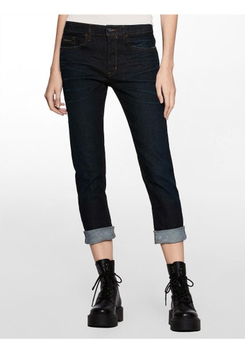 fast delivery price remains stable elegant in style Calvin Klein Slim Boyfriend Fit Selvedge Denim Jeans