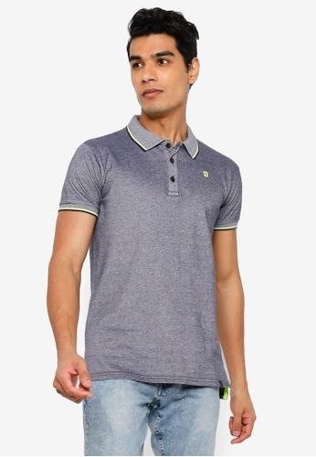 Indicode Jeans navy Fuengirola Polo Shirt B5157AA11FCB0FGS_1