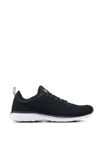 ATHLETIC PROPULSION LABS black Techloom Phantom Shoes 1CDE4SHE47F5BDGS_1