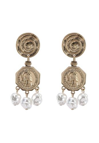 Mango Nuria Drop Earrings D4170ACD2313B3GS_1