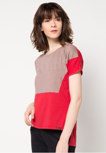 Gaff red Linda Blouse GA640AA30KBPID_1