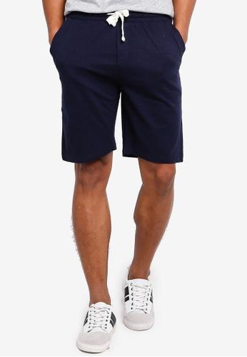 OVS 海軍藍色 Chill House 短褲 0952FAAFE6A5A1GS_1