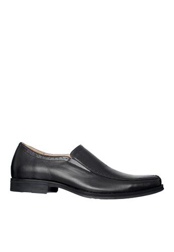 Hush Puppies black Hush Puppies Men's Harper Loafer Dress Shoe - Black 11129SHC563EA3GS_1