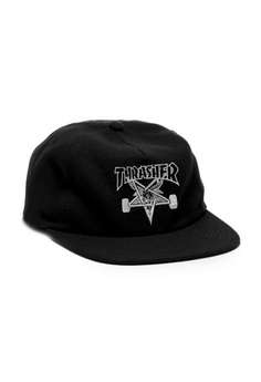 26cfa5a699f Thrasher black Thrasher Skategoat Wool Blend Snapback Black  39D19ACDE5990DGS 1