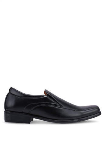 Rocklander black Slip On Formal Shoes A8751SHDE1C1B4GS_1
