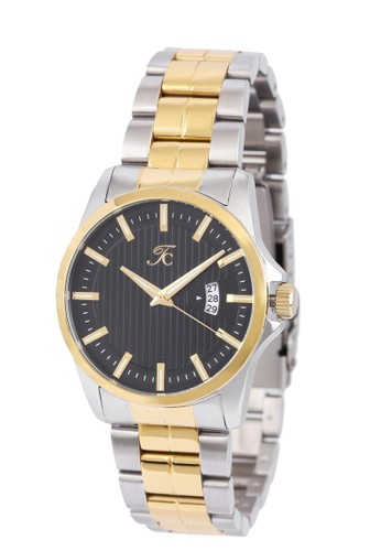 Teiwe Collection gold and silver Moment Watch - Teiwe Collection TC-CG1004 jam tangan pria - stainlles steel - gold - silver TE092AC0UII7ID_1