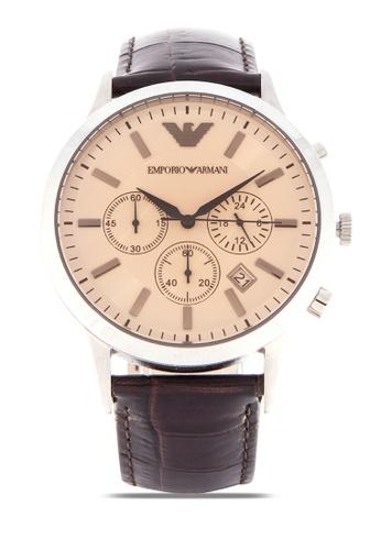 Shop Emporio Armani Classic Renato Watch AR2433 Online on ZALORA Philippines 5e07c77afc9d6