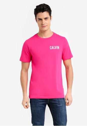 Calvin Klein 藍色 Toreos Regular Short Sleeve Crew Neck Tee - Calvin Klein Jeans D968DAA906B1E7GS_1