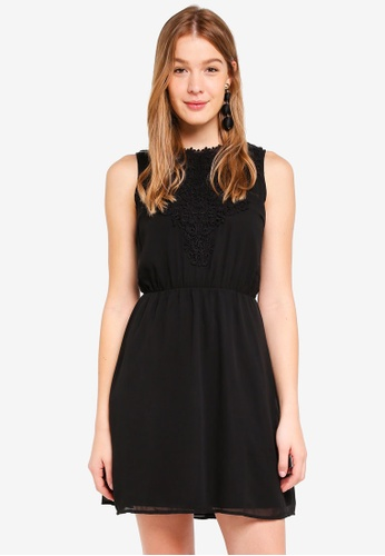 ONLY black Laura Crochet Dress AF976AAB547A40GS_1
