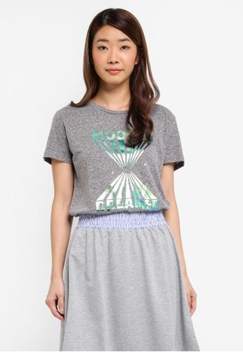 Modstrom grey Fabiola T-Shirt 539B5AA4BF0C0BGS_1