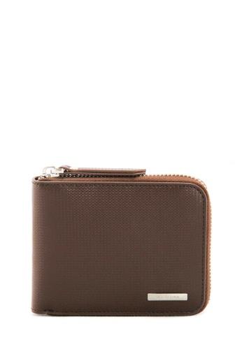 SEMBONIA brown SEMBONIA Men Genuine Leather Wallet (Brown) 47F86AC1B3496FGS_1