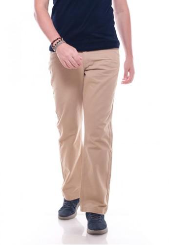 Gargo brown Casual Pants Basic 3BDD9AAC6A4008GS_1